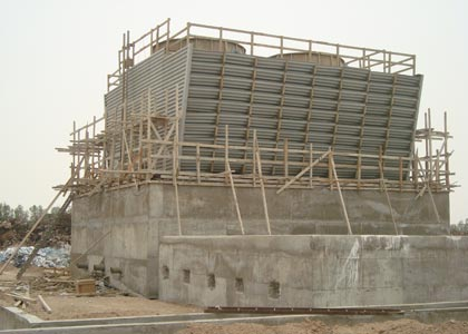 Cooling Tower, Arab Iron and Steel Corporation, Aden, Griffin Energy